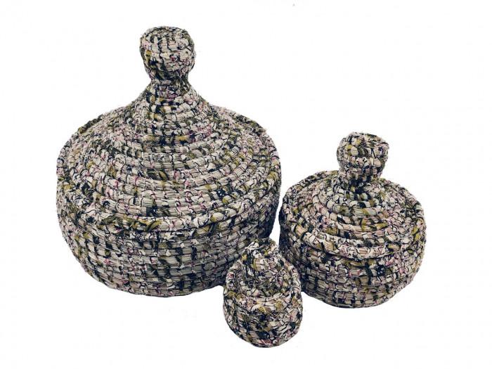 Thiapou Wax – Set de 3 boîtes gigognes