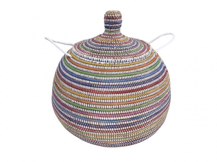 Doum – Large size basket white
